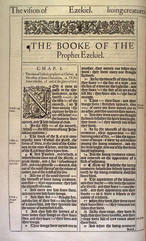 Detailed outline of the book of Ezekiel - oracles of judgment against nations, judgment and consolation for Israel