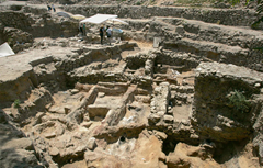 Excavation at former Canaanite city of Sidon