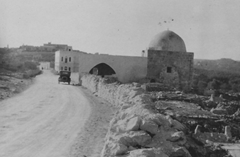 Rachel's Tomb in the 1930's (northern entrance of Bethlehem)