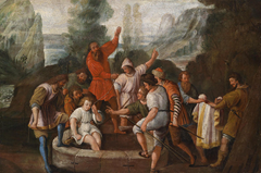 Joseph Thrown Into A Well By His Brothers - Circle of Johann Heiss