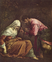 Judah and Tamar - Bassano