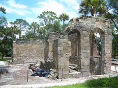 Ruins of a sugar mill in Smyrna