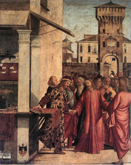 The Calling of St. Matthew, by Vittore Carpaccio, 1502