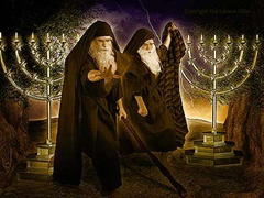 The Two Witnesses - artist unknown