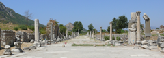 Archeological excavations at Ephesus