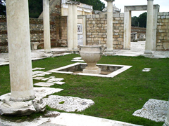 Ancient synagogue in Sardis