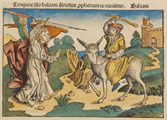 Balaam and the angel (1493)
