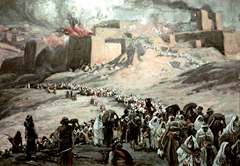 King Nebuchadzennar's siege of Jerusalem