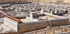Rendering of the Third Temple - Ferrel Jenkins (2012)