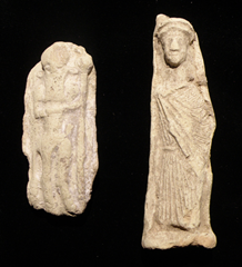 Ancient Mesopotamian idols - possibly similar to Laban's idols that Rachel stole