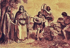 The Covenant of Laban and Jacob at Gal-ed (Unknown)