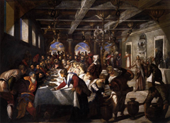 Marriage at Cana - Jacopo Tintoretto (1561)