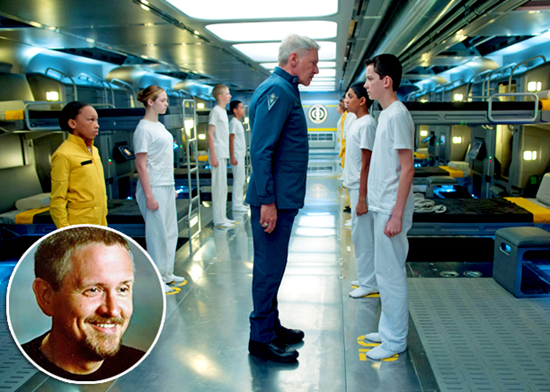 Movie frame from Orson Scott Card's Ender's Game