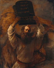 Moses Breaking the Tables of the Law by Rembrandt - December 31, 1658