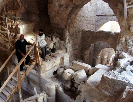 Archaeologists unearth ancient entryway to King Herod's Palace