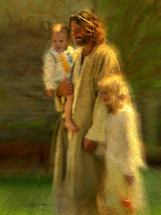 In the Arms of his Love - by Greg Olsen