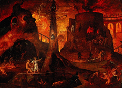 Islam provides a graphic description of Hell