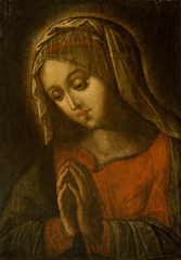 Virgin in Prayer, circa 1675, Denver Art Museum