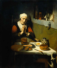 """Prayer without End"" (1656), oil on canvas, 134 x 113 cm, Rijksmuseum, Amsterdam"
