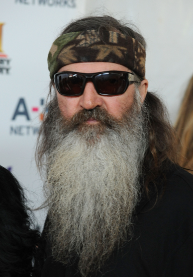 Duck Dynasty star and avowed Christian Phil Robertson