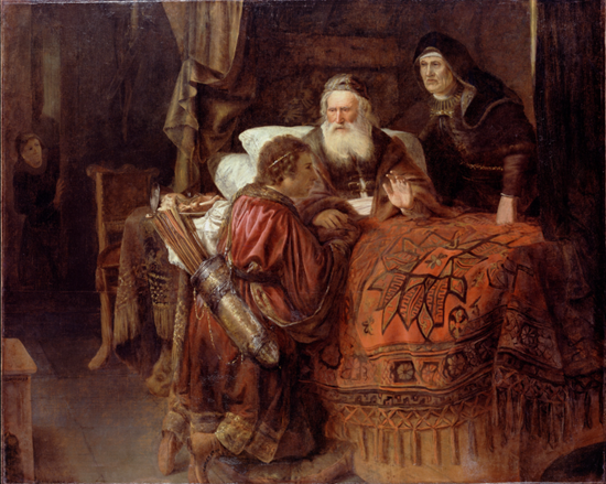 Horst, Gerrit Willemsz. - Isaac blessing Jacob
