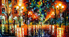 The Spectrum for Happiness - By Leonid Afremov (http://http://afremov.com/)