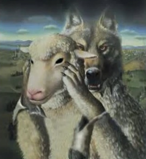 Wolf in sheep's clothing - unknown