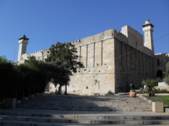 Cave of Machpelah located in the heart of Hebron