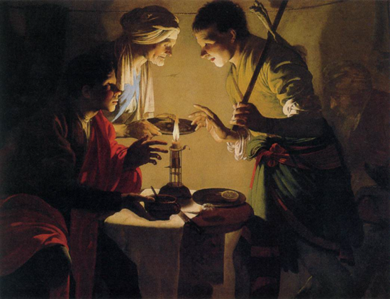 Esau Selling His Birthright, c. 1627
