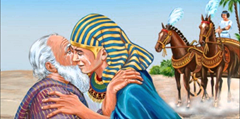 Jacob reunites with Joseph