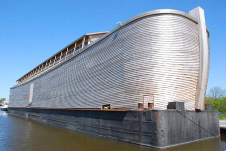 Noah's ark moored