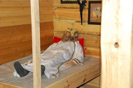 Sleeping quarters inside the ark
