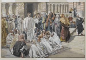 Pharisees Question Jesus - James Tissot (1886-1894)