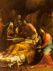 The Death of St. Joseph - The Hermitage (1712)