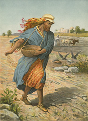 The Sower Sowing the Seed - Artist unknown