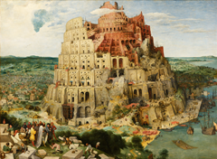 The Tower of Babel - Pieter Bruegel the Elder(1563)
