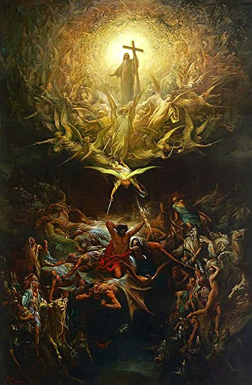 The Triumph of Christianity Over Paganism - Gustave Dore (1866)