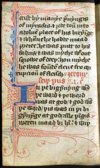 Wycliffe Bible - Gospel of John